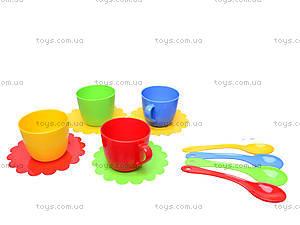 Игрушечный набор посуды «Ромашка», 39122, цена