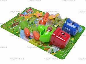 Игрушечный набор садовых инструментов, 812A, детские игрушки