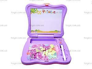 Игрушечный ноутбук с буквами, BB91B, игрушки
