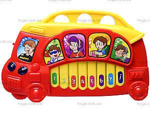 Игрушечный орган «Автобус», 7094, отзывы