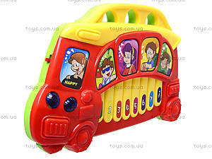 Игрушечный орган «Автобус», 7094, цена