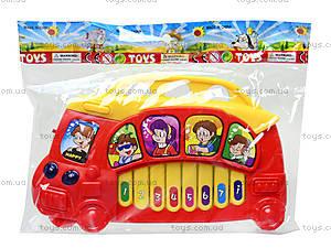 Игрушечный орган «Автобус», 7094