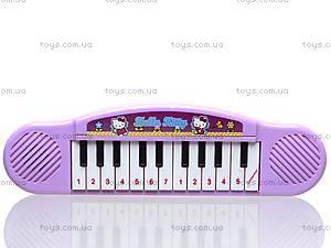 Игрушечный орган «Хелло Китти», 3703, детские игрушки