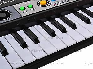 Игрушечный орган с микрофоном, MQ827USB, магазин игрушек