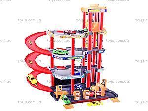 Игрушечный паркинг «Заправка», P4788A-2, детские игрушки