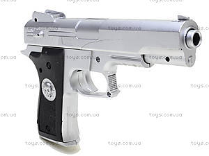 Игрушечный пистолет на пулях, 0126-2, фото