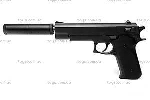 Игрушечный пистолет, с глушителем и пулями, K6A, купить