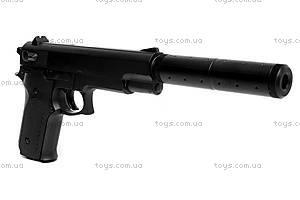 Игрушечный пистолет, с глушителем и пулями, K6A, фото