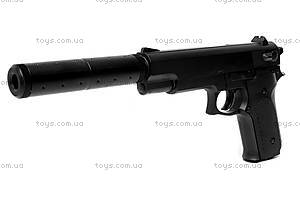 Игрушечный пистолет, с глушителем и пулями, K6A, отзывы