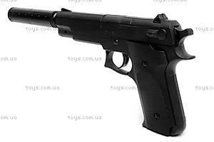 Игрушечный пистолет, с глушителем и пулями, K6A, цена