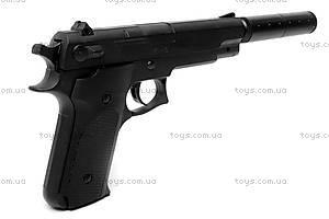 Игрушечный пистолет, с глушителем и пулями, K6A, игрушки