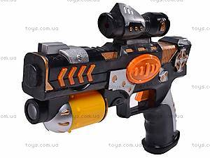 Игрушечный пистолет с лазером, 025-1, фото