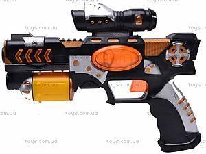 Игрушечный пистолет с лазером, 025-1