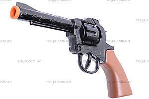 Игрушечный пистолет, с металлическим цилиндром, 2096BB, купить