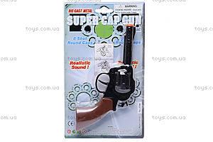 Игрушечный пистолет, с металлическим цилиндром, 2096BB, фото