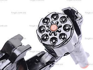 Игрушечный пистолет, с металлическим цилиндром, 2096BB, отзывы