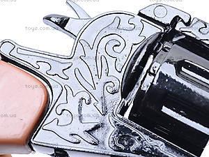 Игрушечный пистолет, с металлическим цилиндром, 2096BB, игрушки