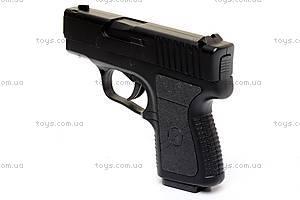 Игрушечный пистолет, с пулями, 9139, фото