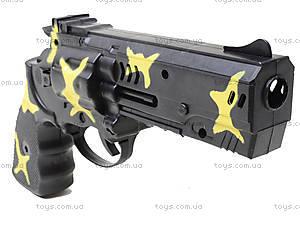Игрушечный пистолет с трещоткой, 1023-1, купить