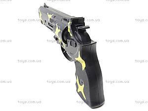Игрушечный пистолет с трещоткой, 1023-1, фото
