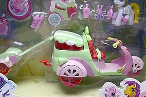 Игрушечный пони с машиной, 732AB, toys.com.ua