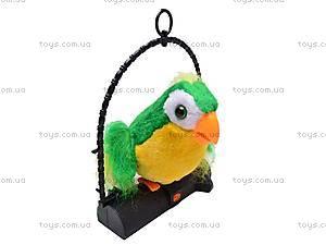 Игрушечный попугай-повторюха, 2188, фото
