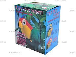 Игрушечный попугай-повторюха, 2188, игрушки