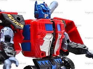 Игрушечный робот-трансформер, 8001, детские игрушки