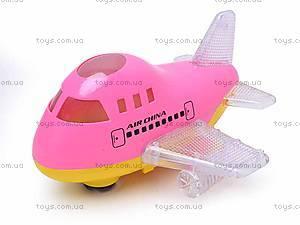 Игрушечный самолет с подсветкой, 198C
