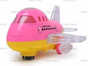Игрушечный самолет с подсветкой, 198C, цена