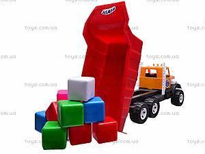 Игрушечный самосвал, с кубиками, 0094, цена