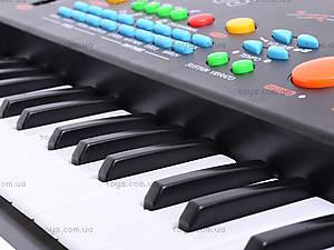 Игрушечный синтезатор, с микрофоном, MQ-3706, отзывы
