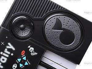Игрушечный синтезатор, с микрофоном, MQ-3706, цена