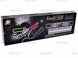 Игрушечный синтезатор с микрофоном, MQ017UF, купить