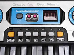 Игрушечный синтезатор с микрофоном, MQ017UF, отзывы