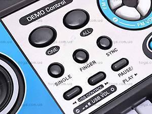 Игрушечный синтезатор с микрофоном, MQ017UF, игрушки