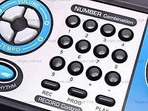 Игрушечный синтезатор с микрофоном, MQ017UF, магазин игрушек
