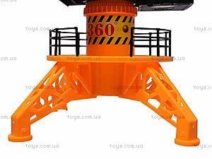 Игрушечный строительный кран, 6806B, фото