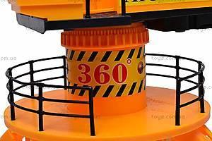 Игрушечный строительный кран, 6806B, отзывы