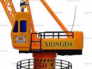 Игрушечный строительный кран, 6806B, игрушки