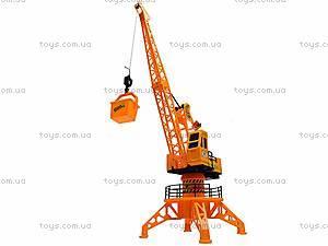 Игрушечный строительный кран, 6806B, детские игрушки