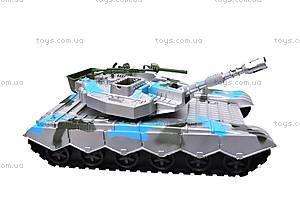 Игрушечный танк с инерцией, K777, детские игрушки