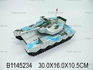 Игрушечный танк с инерцией, K777