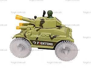 Игрушечный танк с подсветкой, 2899, купить