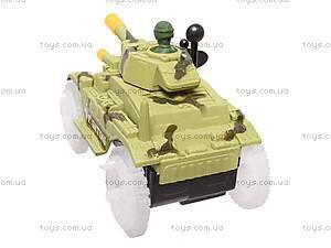 Игрушечный танк с подсветкой, 2899, фото