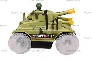 Игрушечный танк с подсветкой, 2899, отзывы