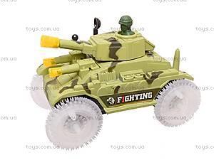 Игрушечный танк с подсветкой, 2899, цена