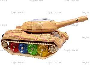 Игрушечный танк со световыми эффектами, 2265-2, цена