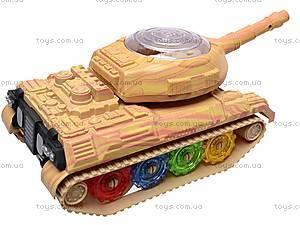 Игрушечный танк со световыми эффектами, 2265-2, игрушки