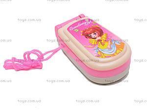 Игрушечный телефон для девочки, 1103-C, отзывы